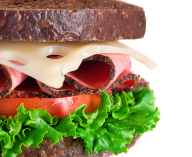 Sandwich fresh and healthly